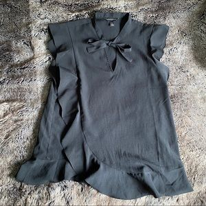 Banana Republic • blouse • black • XS